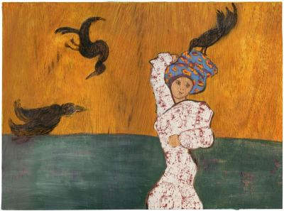 2015 Artists at Home Isobel MacLeod 5, Crows of Mumbai