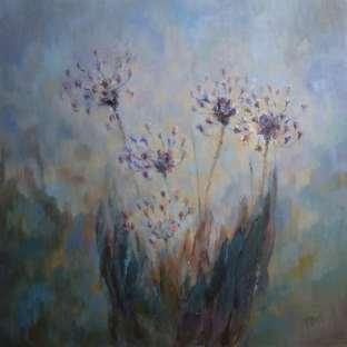 2015 Artists at Home Jasna Bell 4, Agaphanthus Midnight Blue