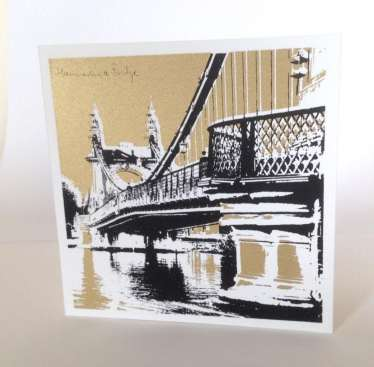 2015 Artists at Home Keith Davidson, Hammersmith Bridge 1