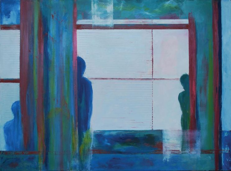 2015 Artists at Home Sally Grumbridge 4, Reflections 2