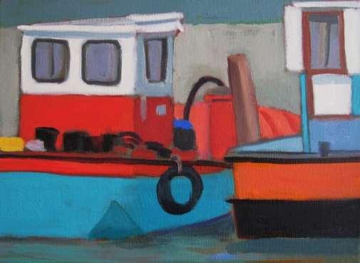 2016 Artists at Home Jill Revie, Venitian tugs
