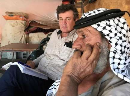 Peter Oborne on a trip to the Middle East