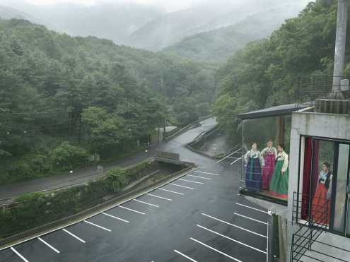 Korea, Monsoon - Julia Fullerton-Batten