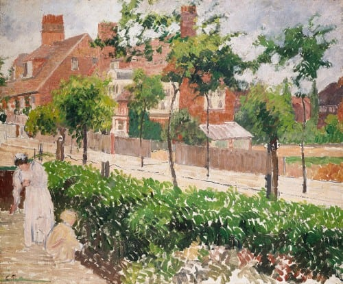 Image © Ashmolean Museum, University of Oxford. WA1951.225.4. Camille Pissarro, Bath Road, London