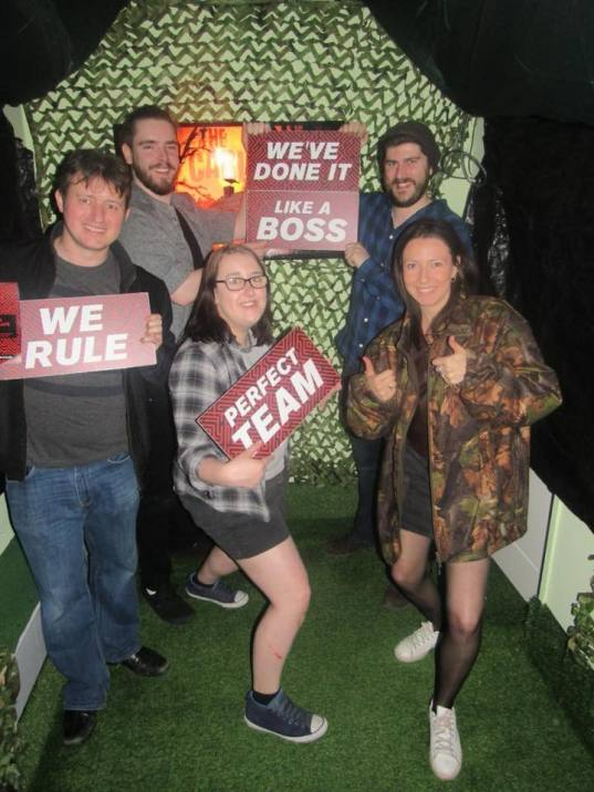 Escape Room win - web
