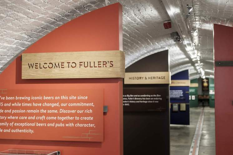 Fuller's visitor tours