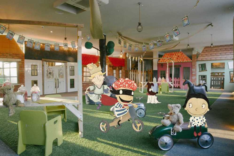 Chiswick Nursery with characters - web