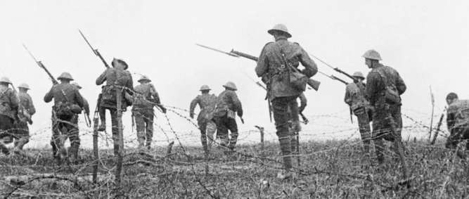 Tha battle of the Somme 1916 First World War Centenary