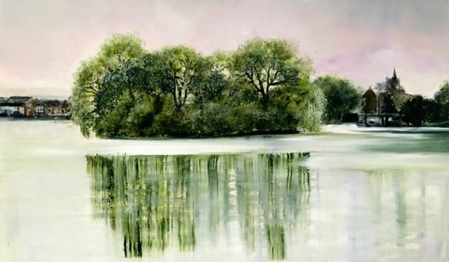 'Walking to Chiswick' by Arabella Harcourt-Cooze
