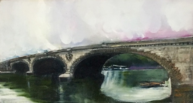 'Kew Bridge' by Arabella Harcourt-Cooze