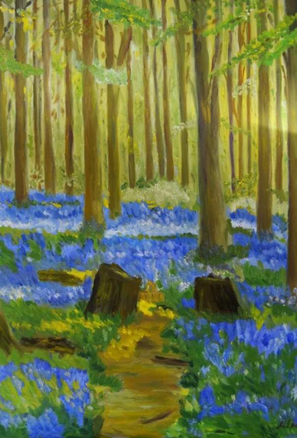'Bluebell Forest' by Natalia Bobrova