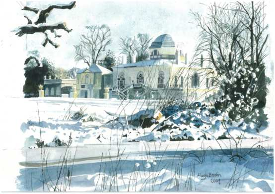 Chiswick House by Hugh Bredin