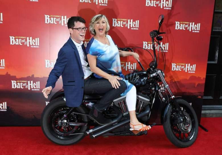 Lesley Garrett and Mike Christie Meatloaf bike__web