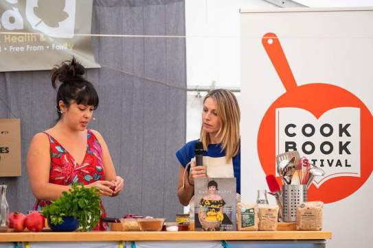 Cookbook Festival 2018 with Melissa Hemsley -web