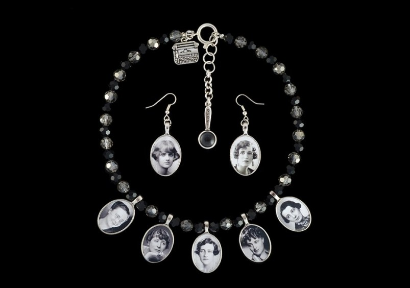 Madeleine Marsh queens of crime necklace