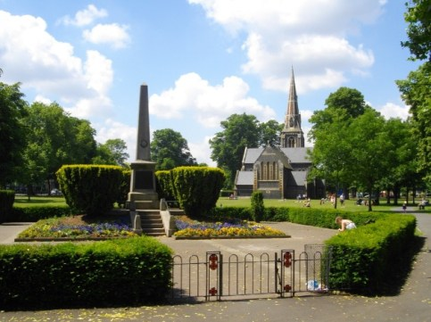 turnham green church chiswick war mamorial
