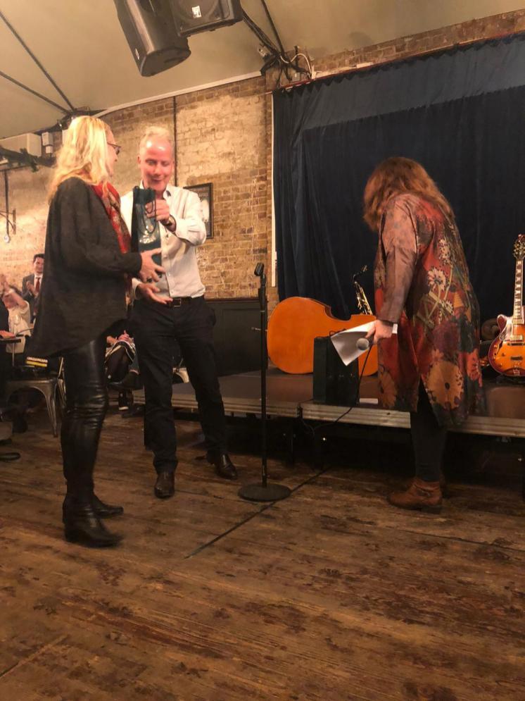 Award winner Donna Schoenherr