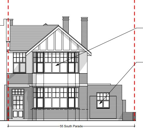 Bedford Park Surgery architect's drawing