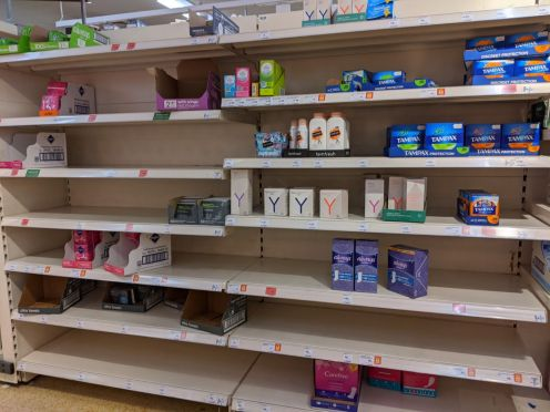 Sainsbury's Female Sanitary Products
