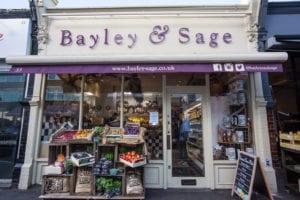 Bayley and Sage Shop