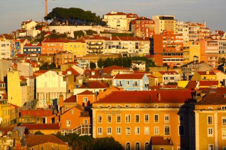 Built Environment - Col Colivet, Lisbon rooftops