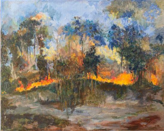 Elaine Carew Broke - World on Fire