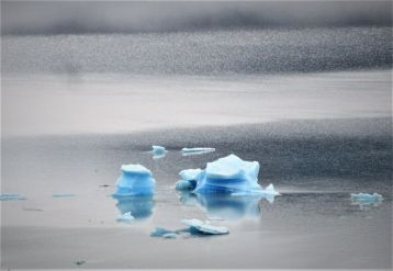 Landscapes and Seascapes - Louis de Montfort, Ice floating