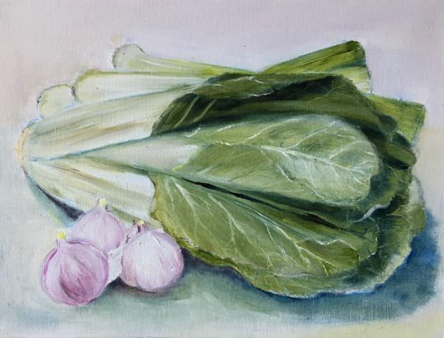 Pak Choi & Garlic