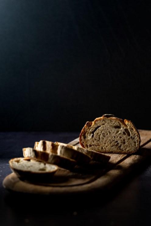 Bread Ahead- cut bread