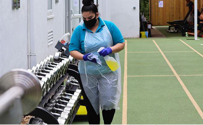 Hogarth Club cleaning