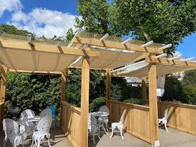 Hogarth Club outdoor pod
