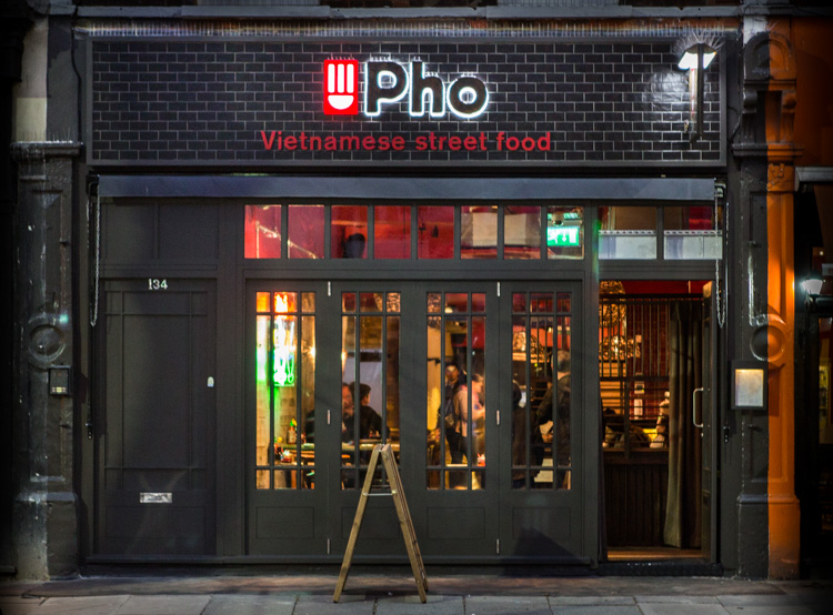 Pho Shop Front Chiswick High Road
