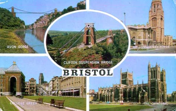 4 August postcard from Bristol