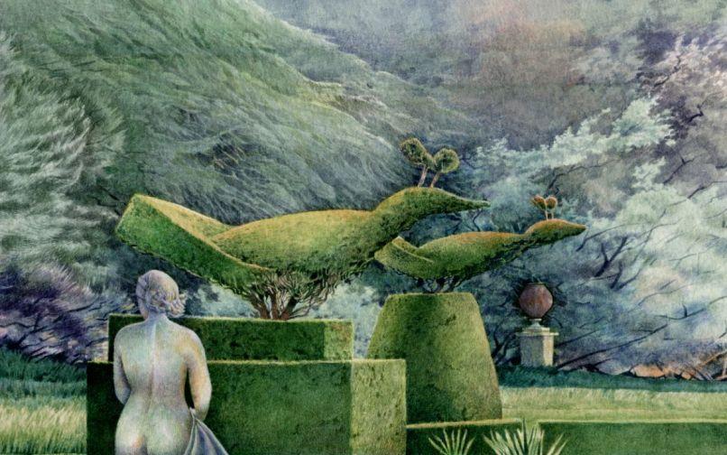 Flora in the garden at Cliveden_web