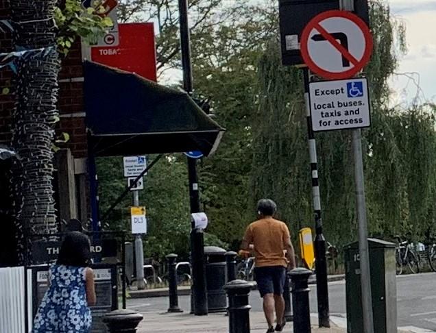 Traffic signs 1 - Bath Rd