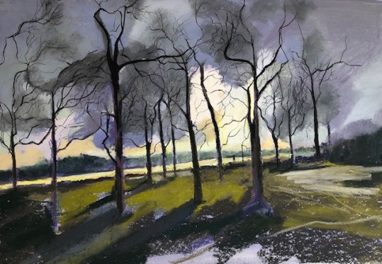 A Walk in Richmond Park - Jill Spearman