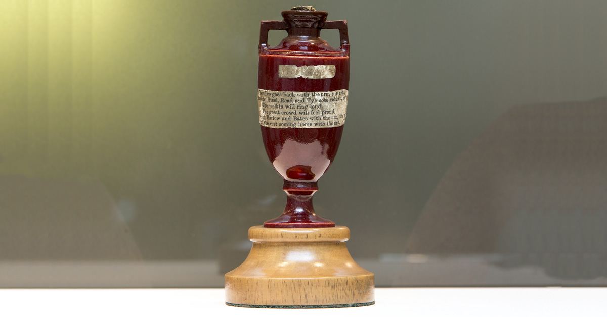 The Ashes Urn at Lord's Cricket Ground
