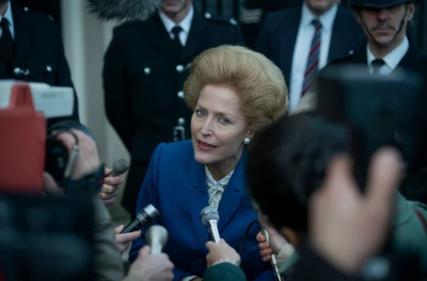 Gillian Anderson as Mrs Thatcher