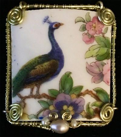 Madeleine Marsh 'Madlark Brooch Peacock' edit IMG_5512
