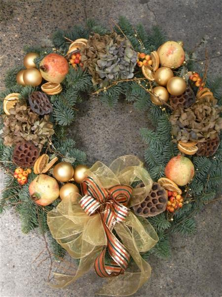 Pot Pourri wreath