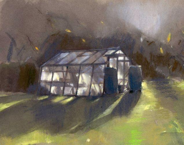 Greenhouse by Christine Berrington