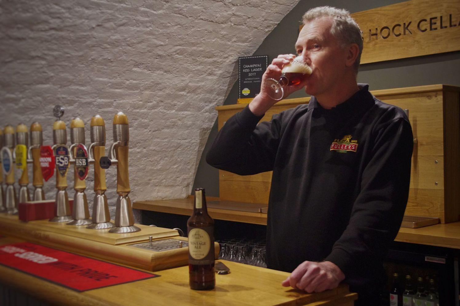 Griffin Brewery head brewer 2