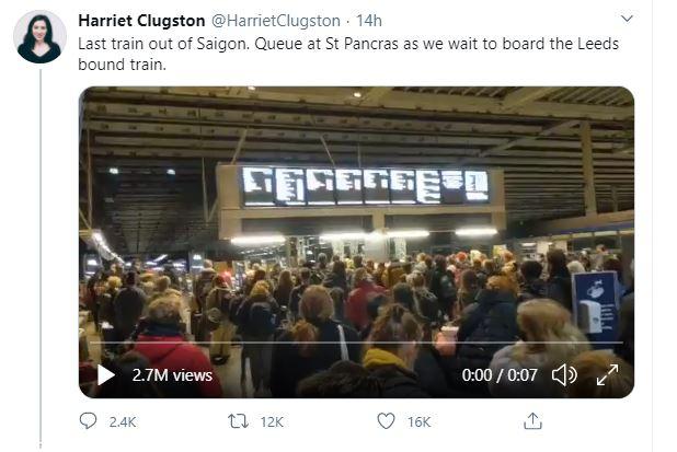 Harriet Clugston St Pancras