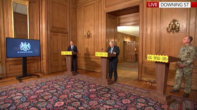 Boris press conference 7 January