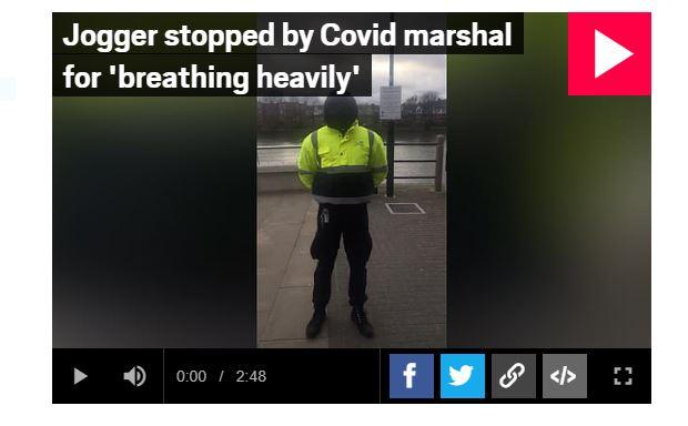Covid marshal