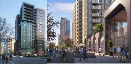 New buildings on Bollo Lane 3