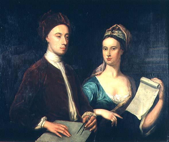 1724 Portrait-of-Richard-Boyle-3rd-Earl-of-Burlington-William-Aikman