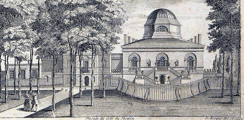 1735 Rocque vignette - C Facade du cote du jardin (signed)_crop