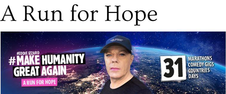 Eddie Izzard - A Run for Hope