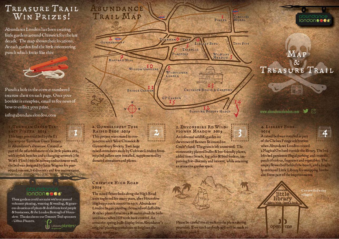Treasure Trail map 1
